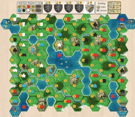 Clans of Caledonia on Board Game Arena